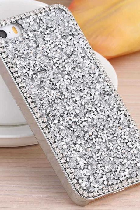 Glitter Bling Crystal Diamond Hard Back Case Cover For Apple iPhone 6s iPhone 6s Plus iPhone SE iPhone 5 5s